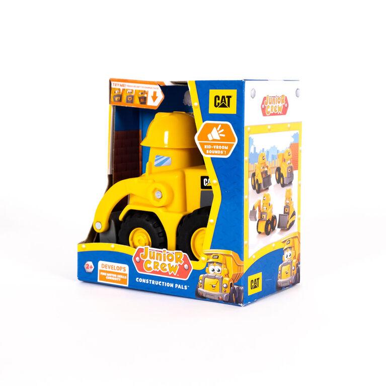 Cat Junior Crew - Chargeur sur roues les p'tits amis du chantier Construction Pals