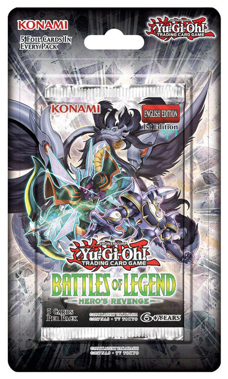 Yu-Gi-Oh! Battles of Legend-Hero's Revenge Blister