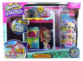 Shopkins Lil' Secrets Rainbow Kate's Bedroom Hideaway