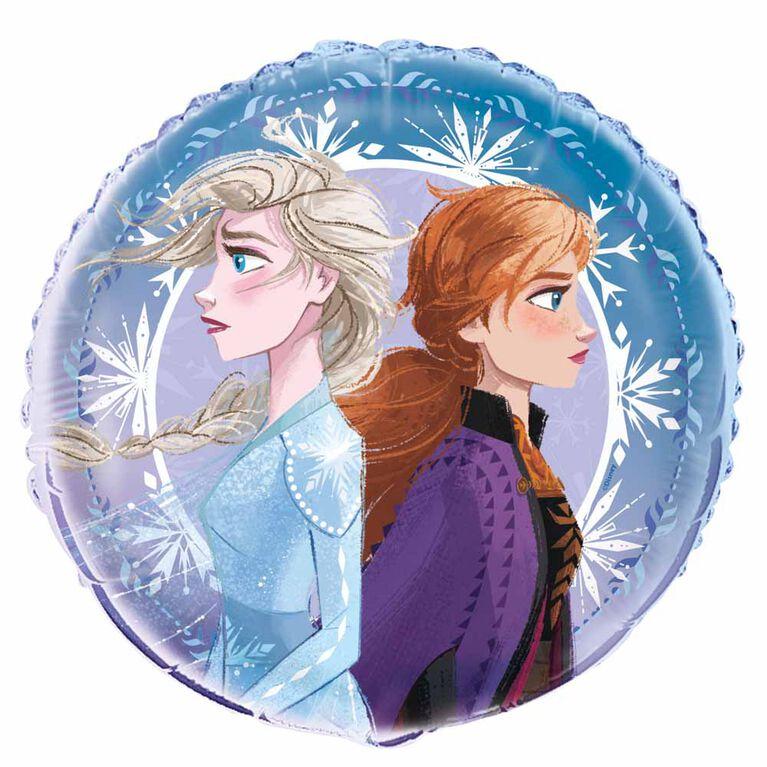 """Ballon aluminium rond, 18 """" - Frozen"""