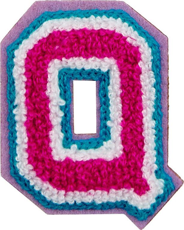 Patchs: lettres décoratifs - Lettre Q