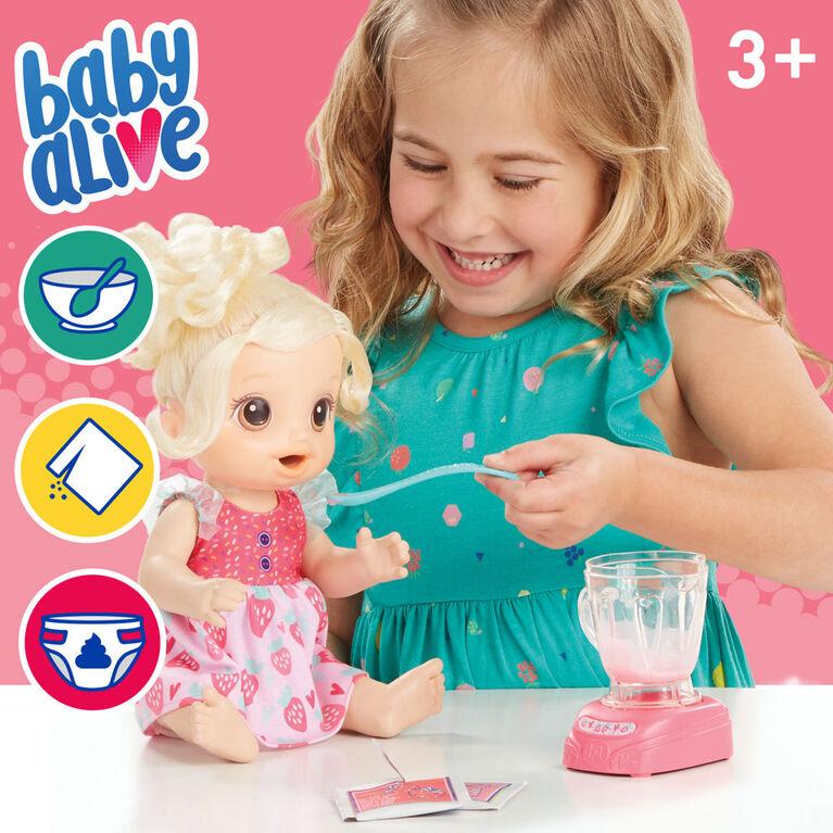 Baby Alive, Bébé et son mélangeur magique