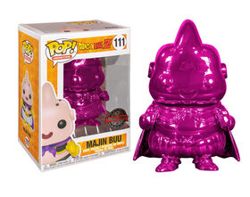 Funko POP! Animation: Dragonball Z - Majin Buu (Pink Chrome) - R Exclusive