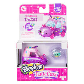 Shopkins Cutie Cars Single Pack - Fast Flakes