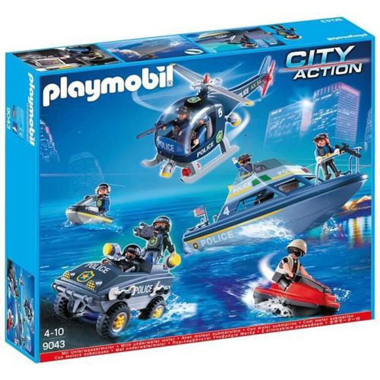 Playmobil - City Action - Police Tactical Unit Set (9043) - R Exclusive