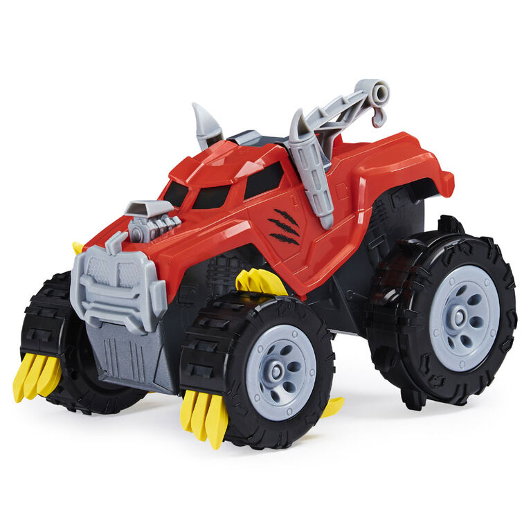 The Animal, Interactive Unboxing Toy Truck with Retractable Claws and Lights and Sounds