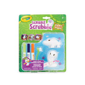 Crayola Scribble Scrubbie Safari Animals 2-Pack Crocodile & Cobra