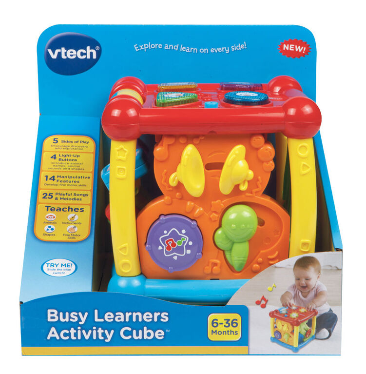 Busy Learners Activity Cube - English Edition