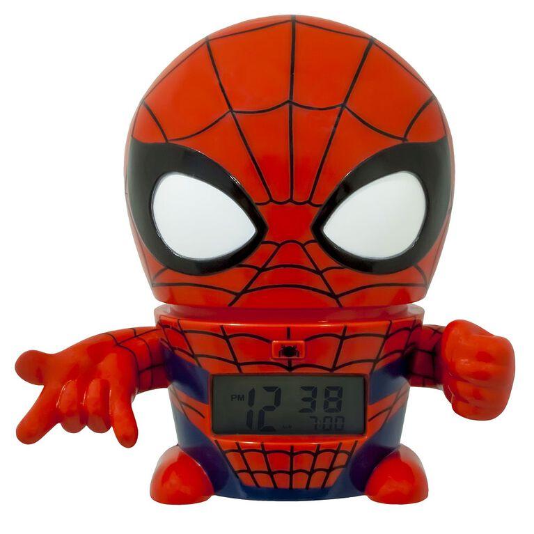 BulbBotz Marvel Spider-Man Night Light Alarm Clock