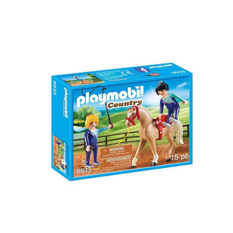 Playmobil - Voltigeuses et cheval