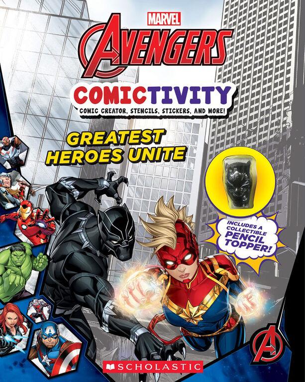 Scholastic - Marvel Avengers Comictivity: Greatest Heroes Unite