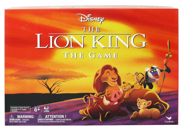 Retro '90s Disney Lion King Board Game