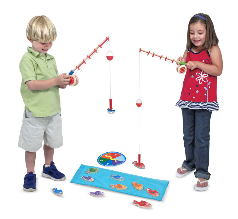 Melissa & Doug - Catch & Count Fishing Game