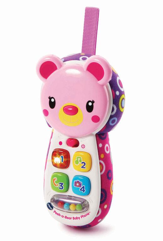 Peek-a-Bear Baby Phone (Pink) - English Edition