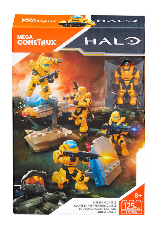 Mega Construx - Halo - Équipe d'intervention Castle