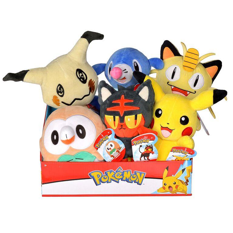 """Pokémon - 8"""" Plush - Meowth"""