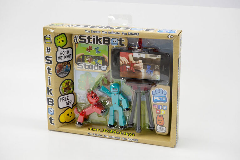 Stikbot Pets Studio