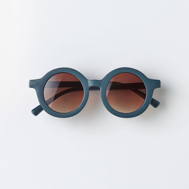 orbit sunnies, o/s kids sunglasses - navy