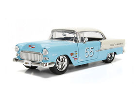 1:24 Big Time Muscle Diecast - 1955 Chevy Bel Air-Hard Top