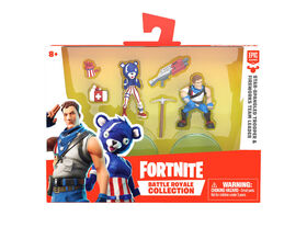 Fortnite Battle Royale Collection: Duo Pack - Star-Spangled Trooper & Fireworks Team Leader