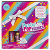 Party Popteenies - Cutie Animal Party Surprise Box Playset with Confetti, Exclusive Collectible Mini Doll and Accessories
