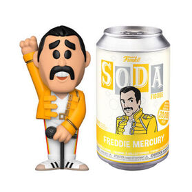 Funko SODA Rocks: Queen - Freddie Mercury