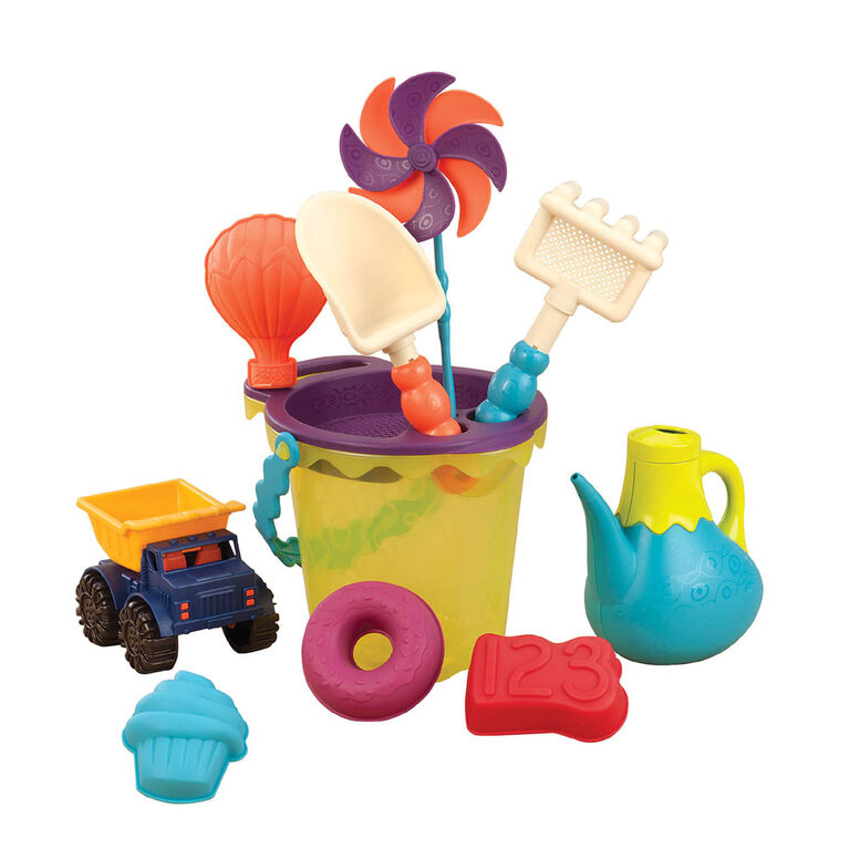 B. Toys  B. Ready Beach Bag