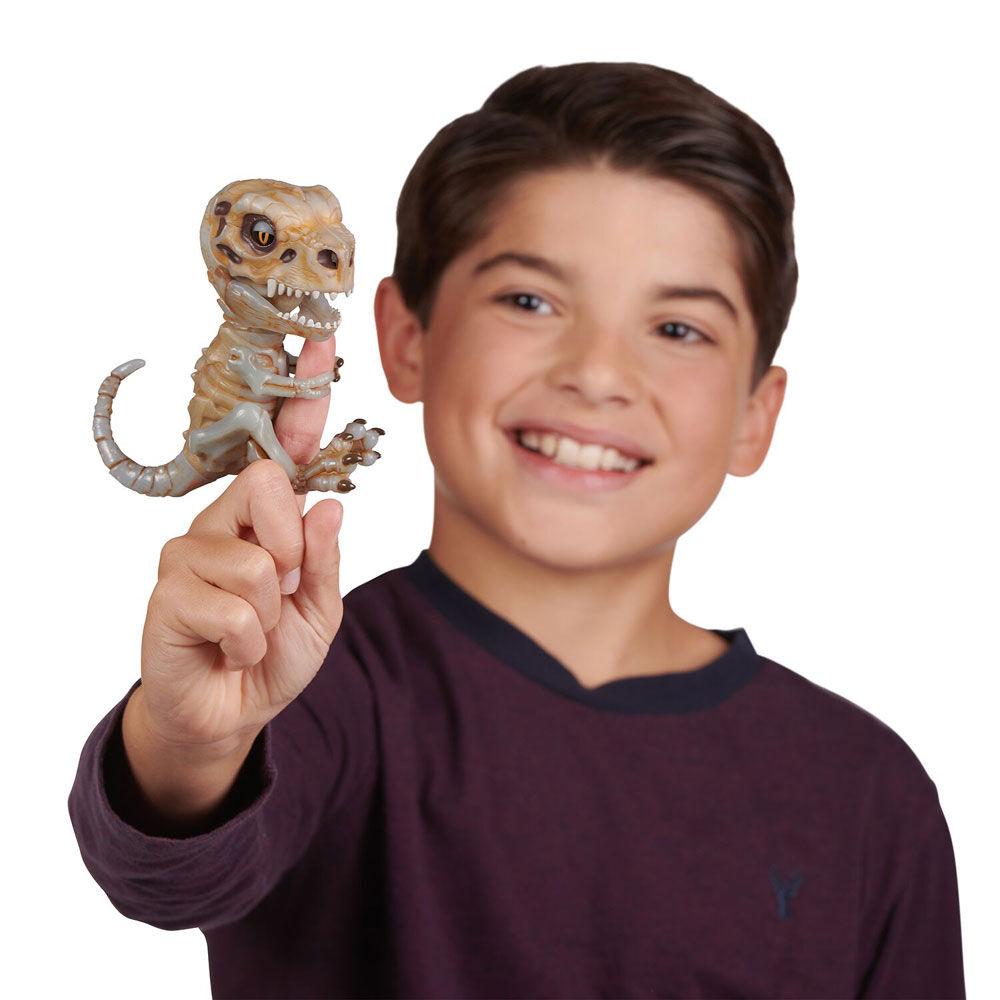 FINGERLING Untamed Bonehead Skeleton T-Rex ASH Doom