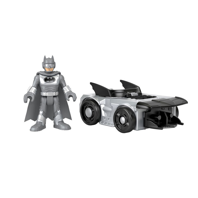 Fisher-Price Imaginext DC Super Friends Slammers Batmobile & Mystery Figure
