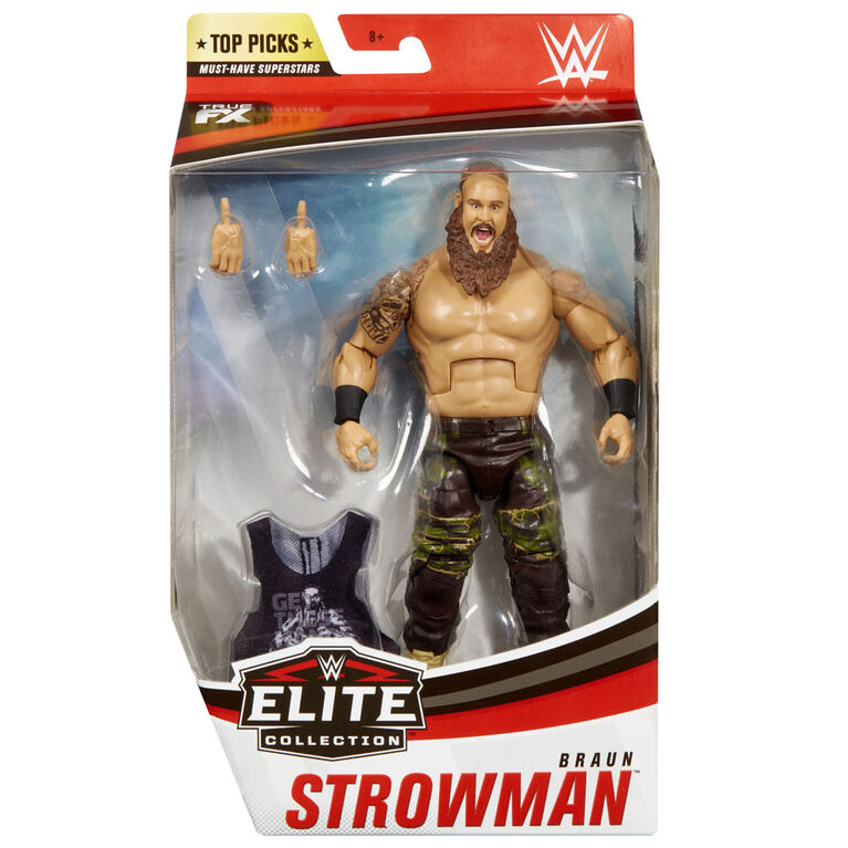 WWE Top Picks Braun Strowman Elite Collection Action Figure