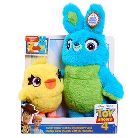 Peluche d'Amitié Toy Story 4 - Ducky Bunny.