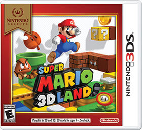 Nintendo 3DS - Nintendo Selects: Super Mario 3D Land