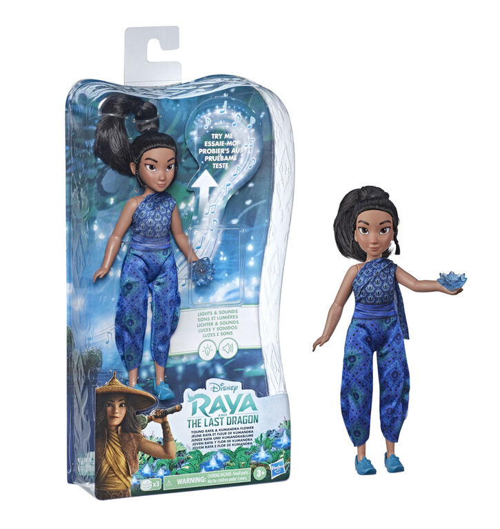 Disney's Raya and the Last Dragon Young Raya and Kumandra Flower