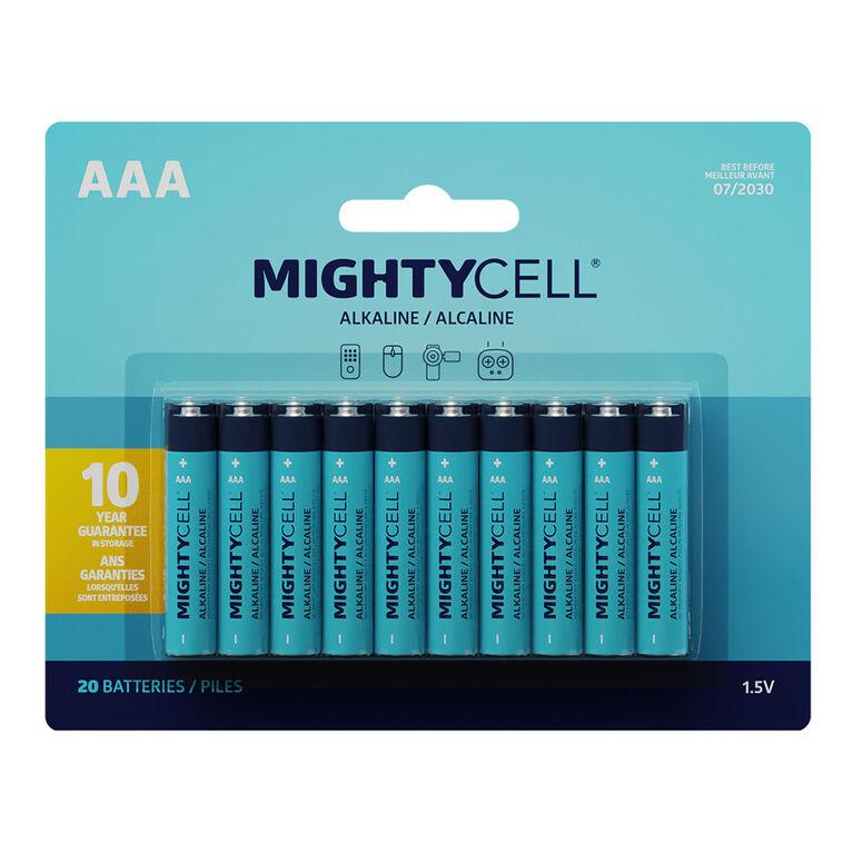 20 PK AAA Alkaline Battery