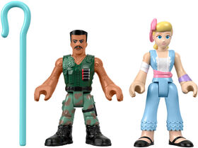 Imaginext Disney Pixar Toy Story Combat Carl and Bo Peep Figures