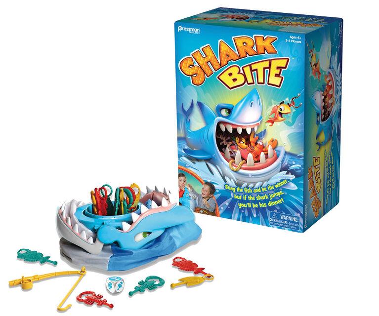 Pressman: Jeu de Shark Bite - Édition anglaise