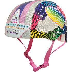 Raskullz - Child 5+ Bicycle Helmet - Jungle Love Lights