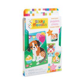 Sticky Mosaics Trousse Mobile Chiots - Notre exclusivité