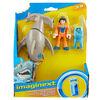Fisher-Price Imaginext Hammerhead Shark & Snorkeler