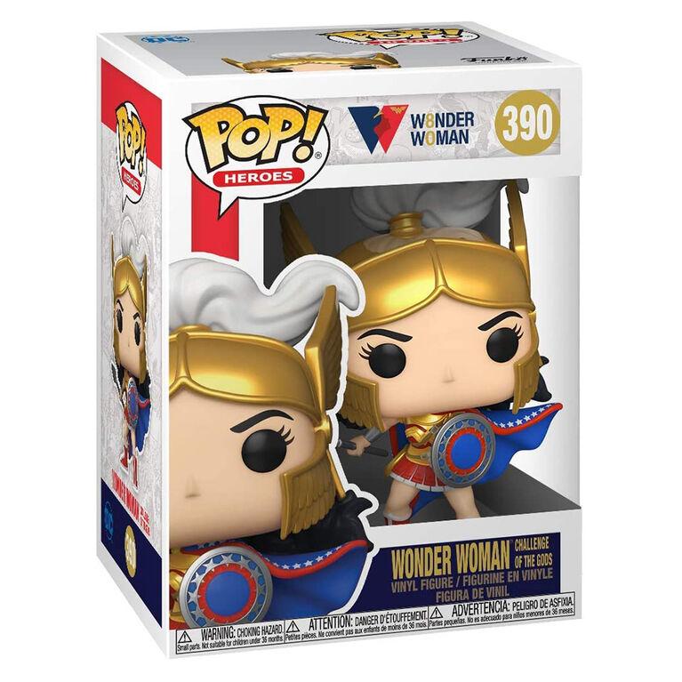 Funko POP! Heroes: Wonder Woman 80th-Wonder Woman (Challenge of The Gods)