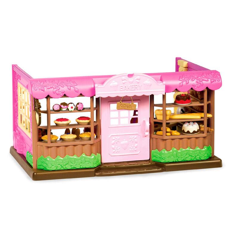 Li'l Woodzeez, Tickle-Your-Taste-Buds Bakery Playset - styles may vary