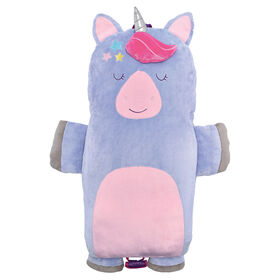 Soft Landing Luxe Loungers Unicorn Character Cushion - English Edition