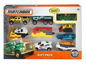 Matchbox - Coffret-cadeau de 9véhicules - Les styles peuvent varier.