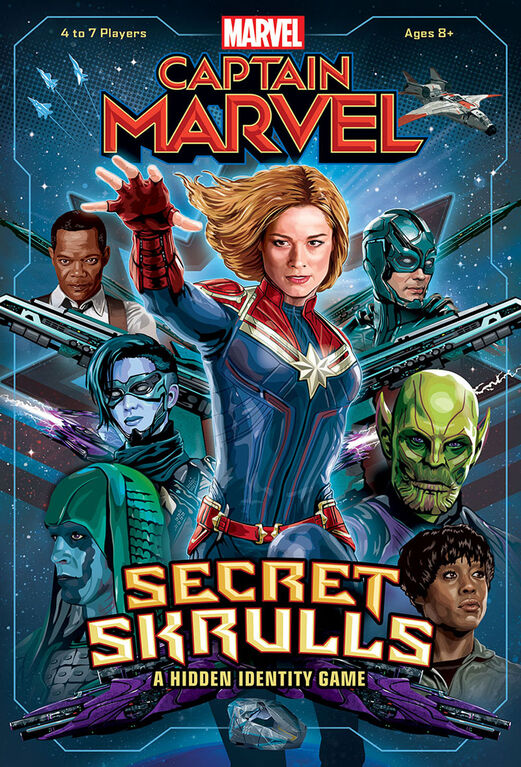 Captain Marvel: Secret Skrulls - English Edition