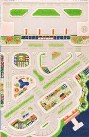 2D Mini City Play Carpet