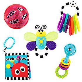 Sassy Baby's 1st Developmental Toys Gift Set