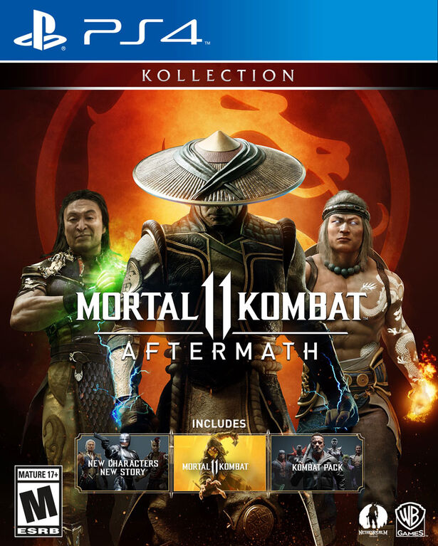 PlayStation 4 Mortal Kombat 11 Aftermath