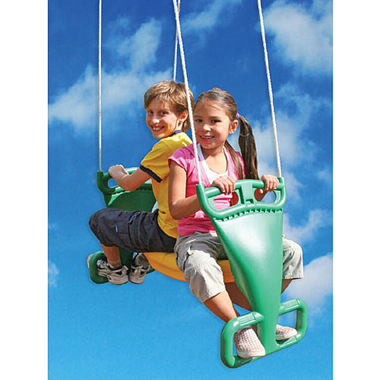 Big Backyard - Gym Set Accessory - 2 Person Glider