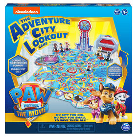 PAW Patrol: The Movie, Adventure City Lookout Board Game