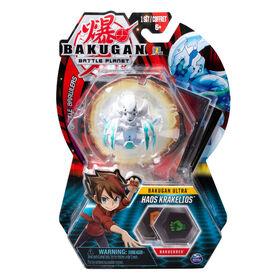 Bakugan Ultra Ball Pack, Haos Krakelios, 3-inch Tall Collectible Transforming Creature